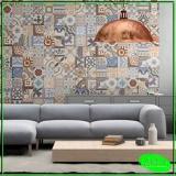 aplicação de papel de parede para sala Bela Vista