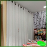 cortina de sala Jardim das Graças