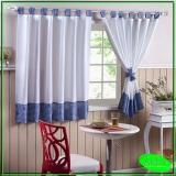cortina de trilho cozinha Vila Ester