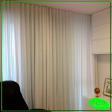 cortina de trilho para janela Jardim das Laranjeiras