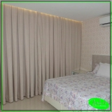 cortina de trilho para quarto de casal preço Lapa alta