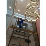 cortina elétrica pé direito duplo valores Vila Cardoso