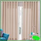 cortina linho