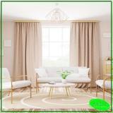 cortinas de duas cores preço IAPI