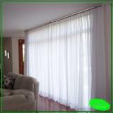 cortinas de trilho estampada Quitaúna