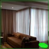 cortinas de trilho suíço Vila Romana