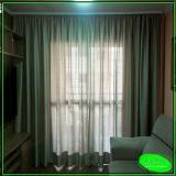 cortina de trilho para janela de quarto