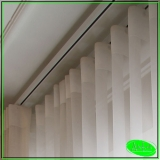 instalação de cortina de trilho para salas Jardim Vera Cruz