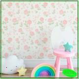 onde comprar papel de parede quarto de bebê Chácara do Rosário